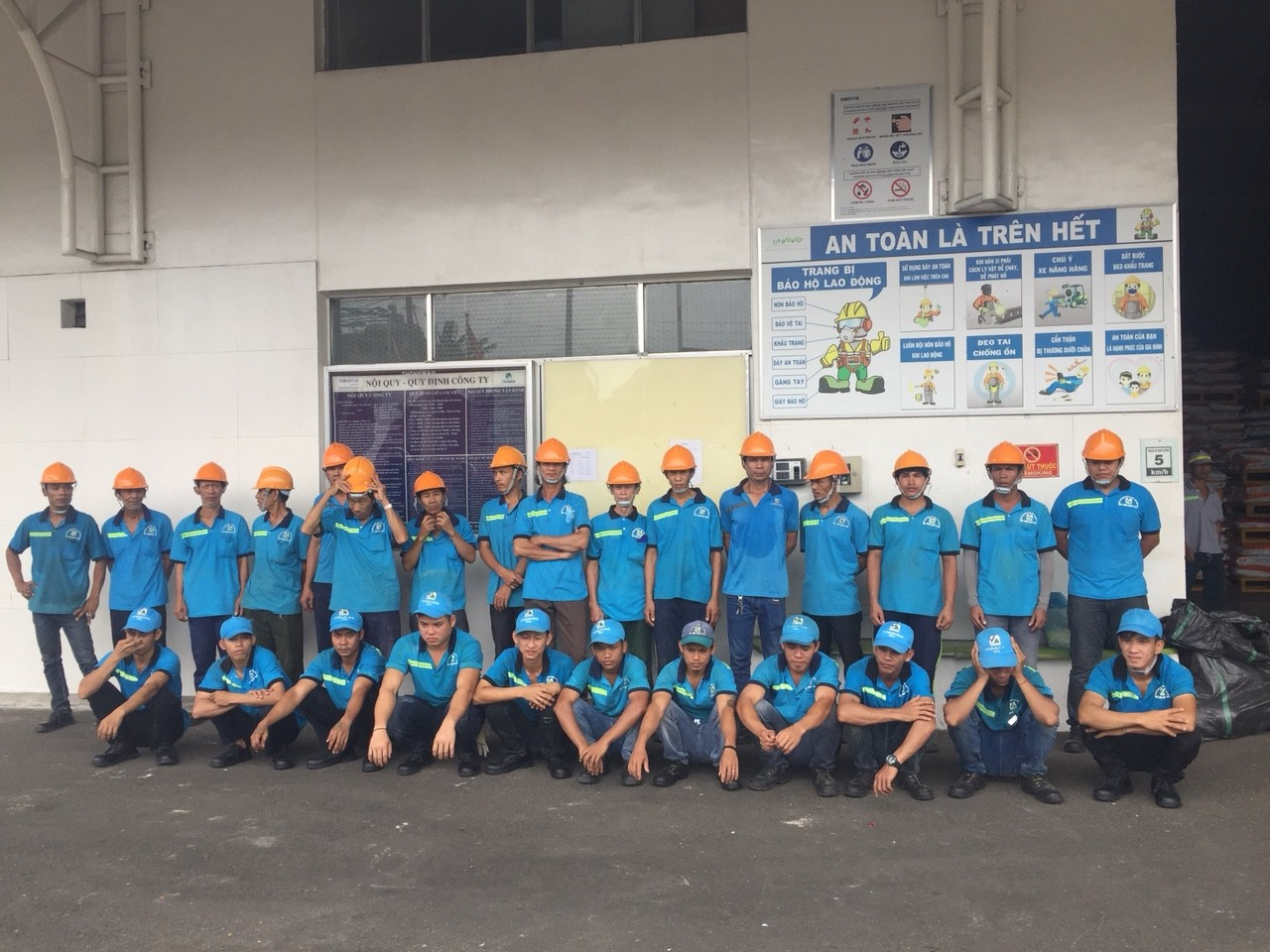 Công ty TNHH DV BV Đại Trường Hải- Công ty cổ phần bốc xếp Vĩnh An